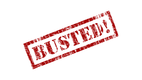 busted rubber stamp stamp