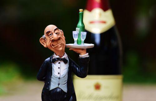 butler tray beverages