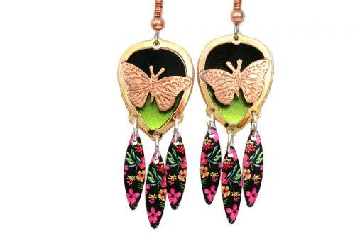 butterfly jewelry earrings