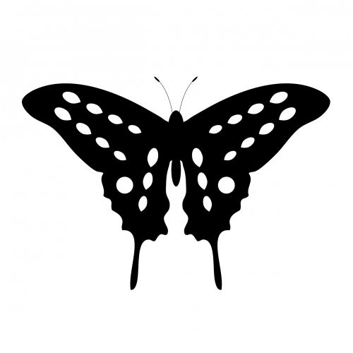 Butterfly Tattoo Clipart