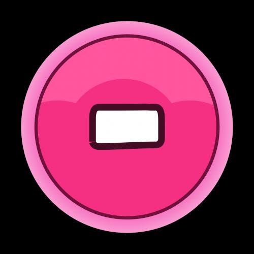 button gui minus