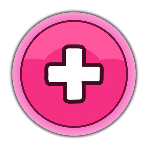 button gui pink