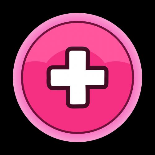 mygtukas,gui,rožinis,plius,vartotojo sąsaja,nemokama vektorinė grafika