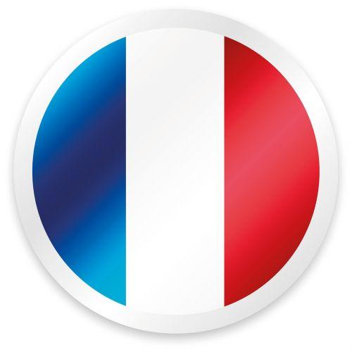 button france blue