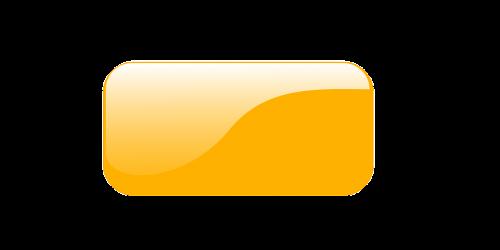 button orange glossy
