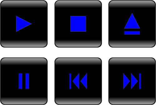 button controls player
