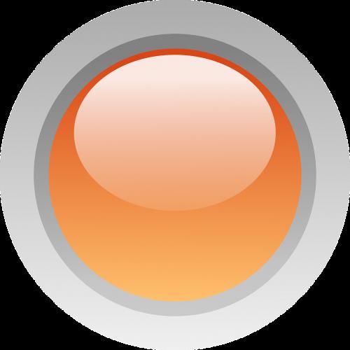 button glossy round