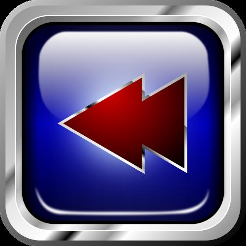 button rewind blue