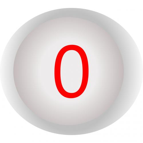 button shut down zero