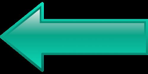button left arrow