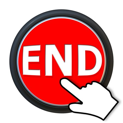 button end finger
