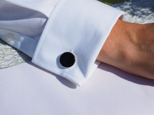 button cufflink cuff