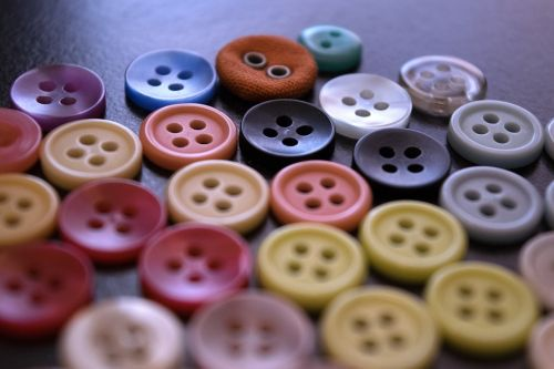 buttons sewing fashion