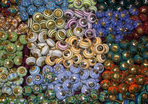 buttons knobs porcelain