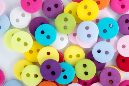 buttons colored buttons colored scattering