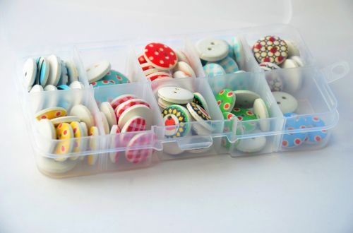 buttons color hobby