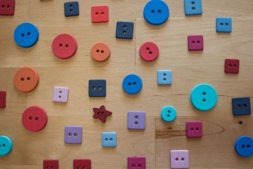 buttons forms colors