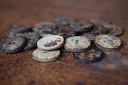 buttons still life button