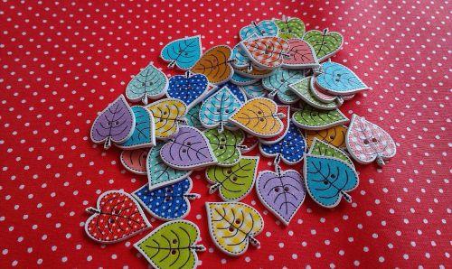 buttons decoration colorful