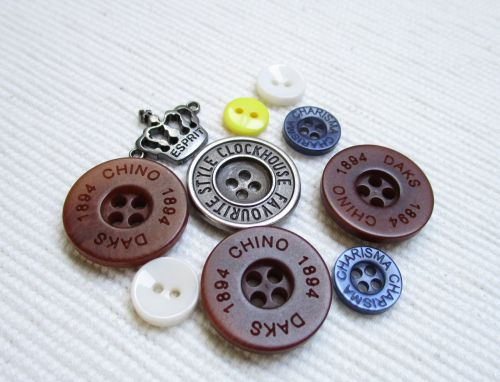 buttons hobby needlework
