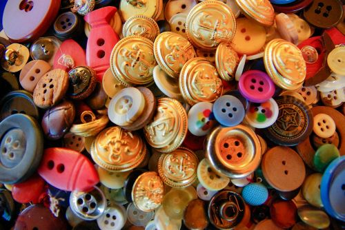 buttons couture materials