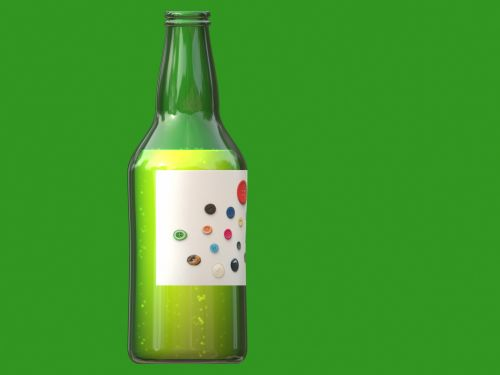 Buttons On The Bottle