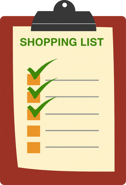 buy checklist clipboard