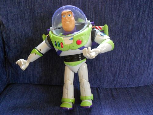 buzz lightyear toy plastic