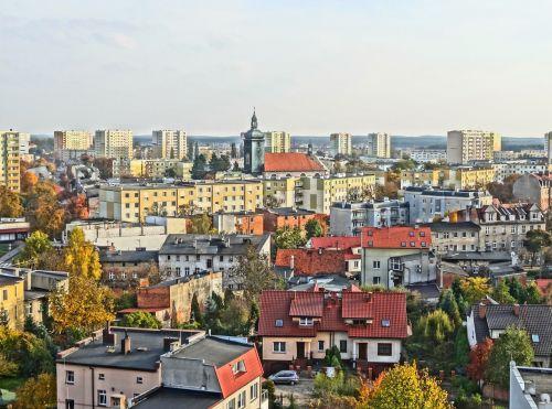 bydgoszcz view panorama