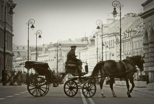 cab warsaw old town
