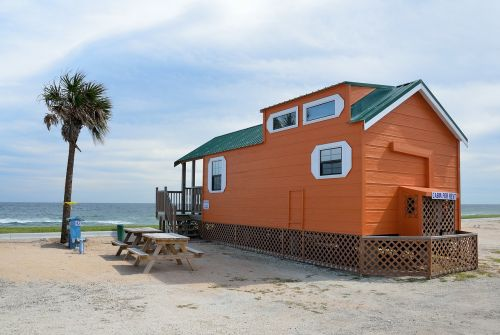 cabin for rent beach front