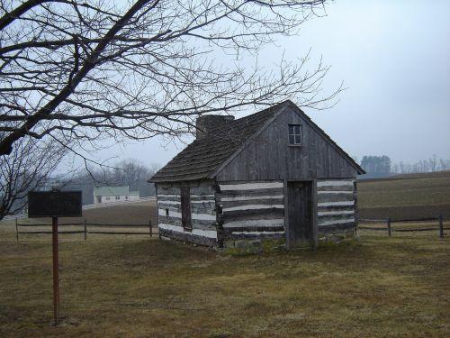 cabin lancaster autumn