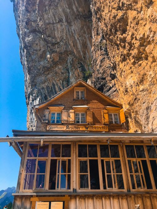 cabin mountain appenzell