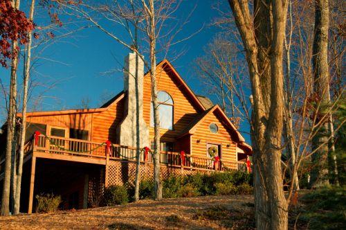 cabin home wood