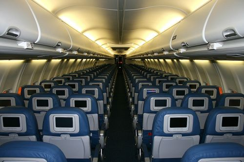 cabin aircraft luggage compartments