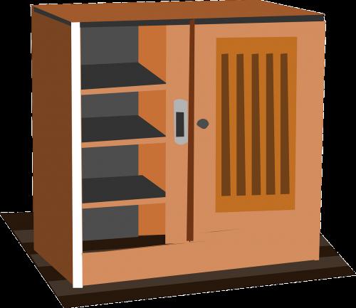 cabinet cupboard wardrobe