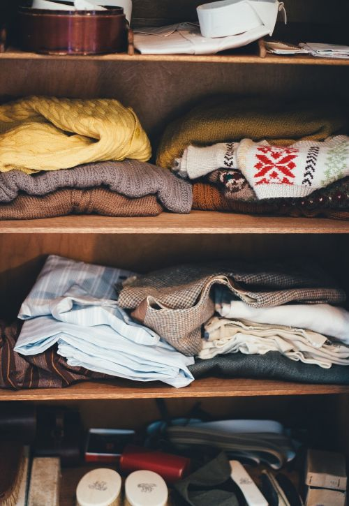 cabinet clothes garments