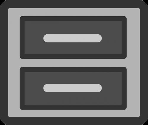 cabinet file symbol
