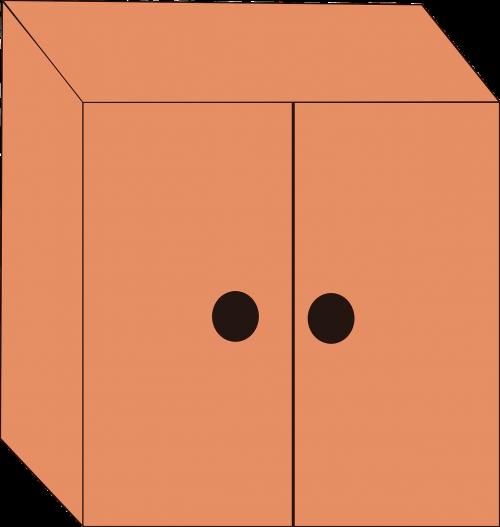 cabinet storage closet