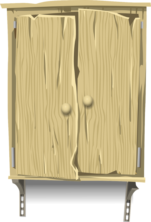 cabinet wood wooden