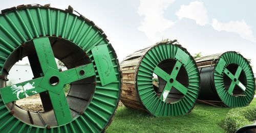 cable green roller circle