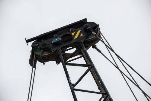 cable pulley crane