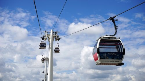 cable car sky cable