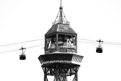 cable car barcelona spain