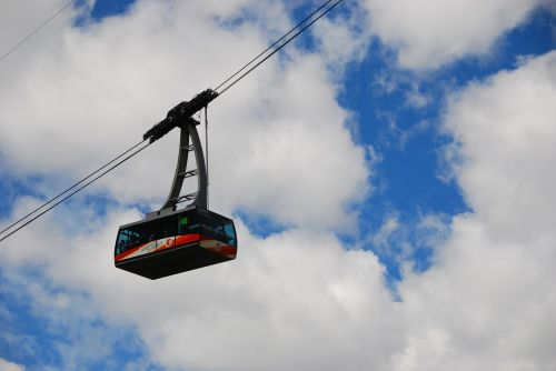 cable car,mountain,sky,clouds,blue,dolomites
