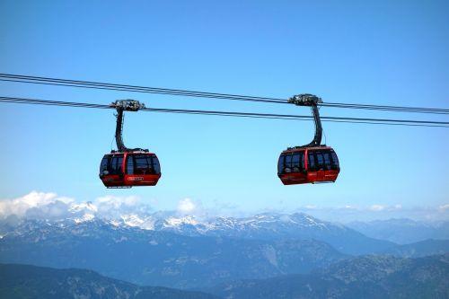 cable car mountains gondola