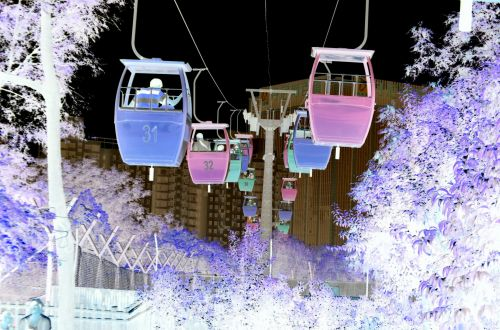 Cable Cars Reversed