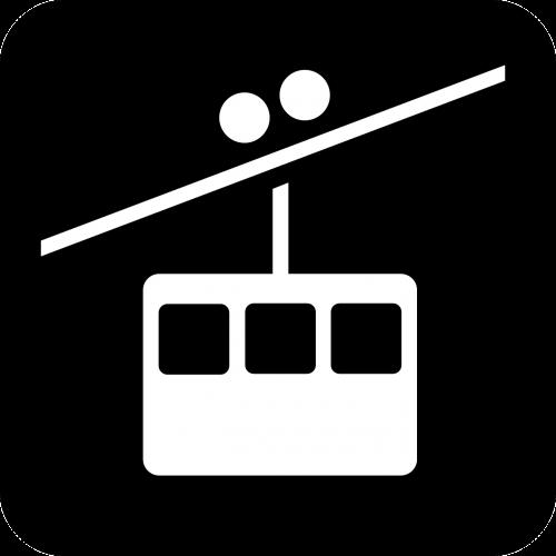 cablecar cableway cable car