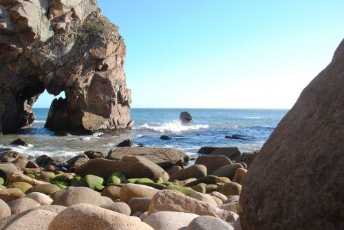 cabo de rocca rock sea