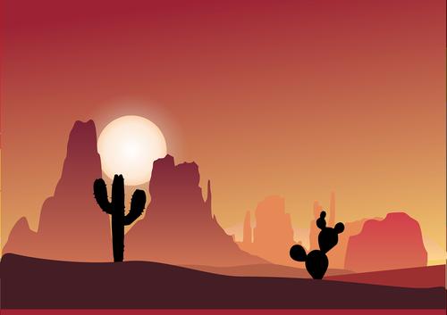 cactus  desert  simple